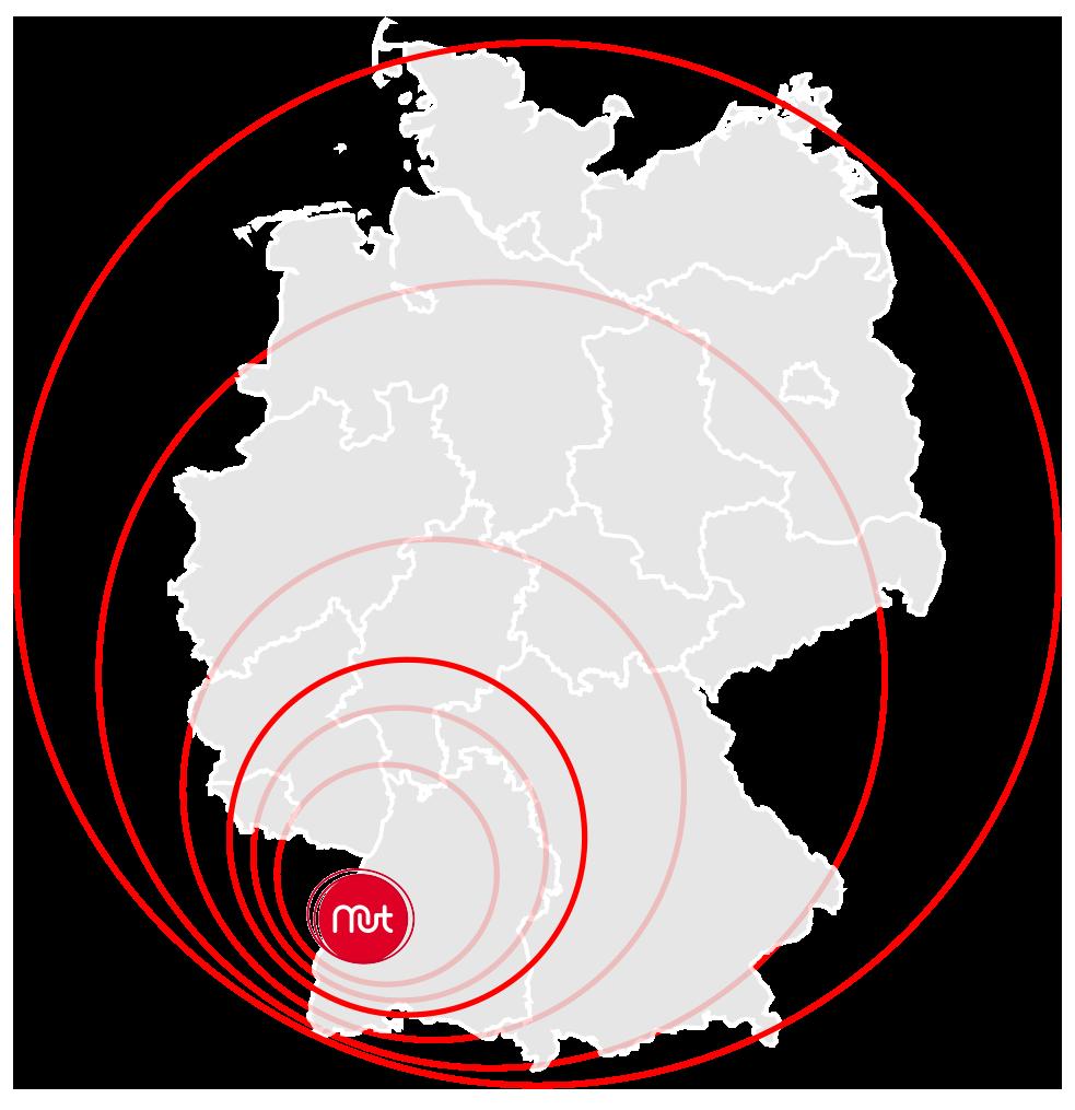 Die Mutmacher gibt es deutschlandweit. Ausgehend aus dem Ortenaukreis sind sie überall zu finden.